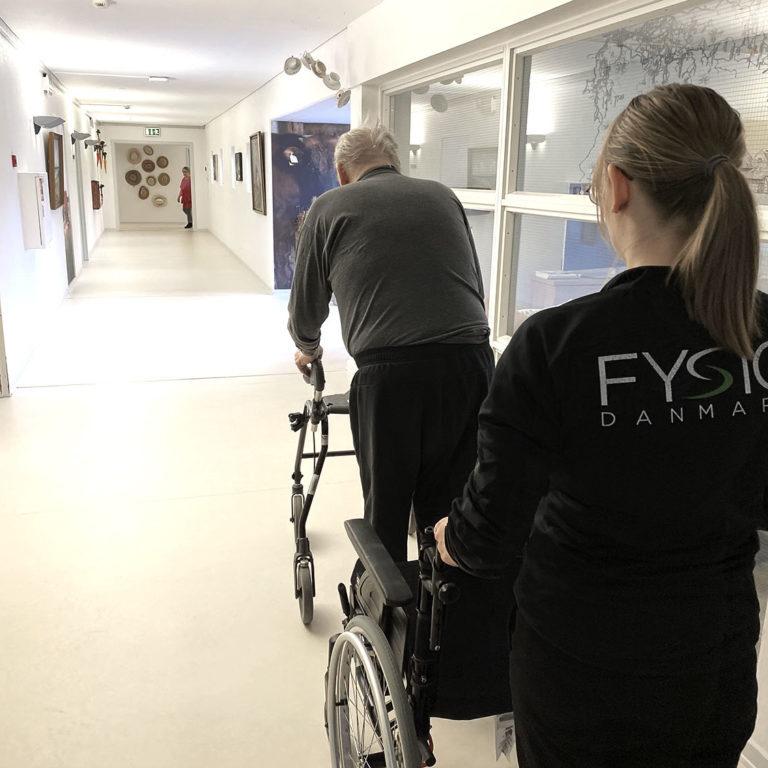 Hjemmebehandling   FysioDanmark Randers